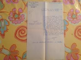 Viaud Consul De France 1936 Forces Françaises En Chine Tientsin Arsenal - Old Paper