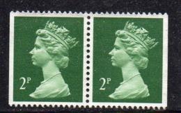 Y647 - GRAN BRETAGNA 1988, Machin  : Coppia Del 2 P. Non Dent Su Due Lati 1322bc ***  (2380A) - 1952-.... (Elisabetta II)