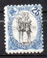 Col17  Colonie Cote Des Somalis  N° 60 Neuf X MH Cote 15,00€ - Côte Française Des Somalis (1894-1967)