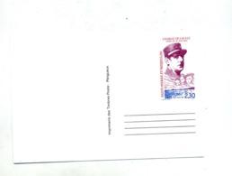 Carte Postale 2.30 De Gaulle - Ganzsachen