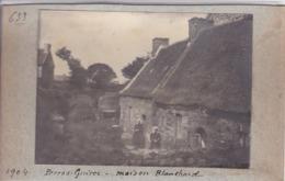 Photographie Bretagne Cote D'Armor Perros Guirec Maison Blanchard  Bretonnes Avec Coiffes A Situer ( Ref 252) - Lieux