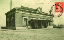 94. CPA. CHOISY LE ROI.  La Gare. 1911. - Choisy Le Roi