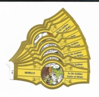 MURILLO  ASTERIX  1H-10H  GOLD  YELLOW - Cigar Bands