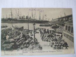 SDV1019-13 - MARSEILLE - LE QUAI D'EMBARQUEMENT DES MESSAGERIES MARITIMES - Old Port, Saint Victor, Le Panier