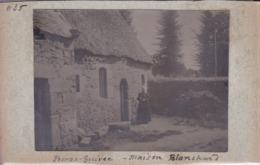 Photographie Bretagne Cote D'Armor Perros Guirec Maison Blanchard  Bretonne Avec Coiffe A Situer ( Ref 253) - Lieux