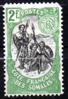 Col17  Colonie Cote Des Somalis  N° 65 Neuf X MH Cote 20,00€ - Côte Française Des Somalis (1894-1967)