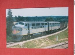 Bangor & Aroostook Railroad Units 500 & 603   Ref 3674 - Trains