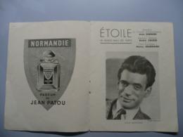 PROGRAMME THEATRE DE L'ETOILE, MUSIC HALL 1947-1948, YVES MONTAND - Programmes