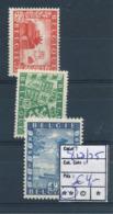 BELGIUM COB 823/825 MNH - Bélgica
