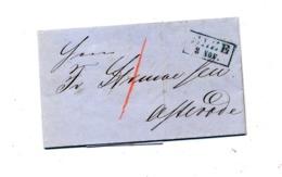 Lettre Cachet Allee 3 Nov - Francobolli