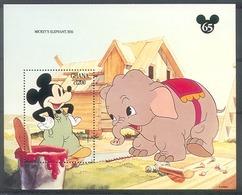 Nct274 WALT DISNEY MICKEY ZOOGDIEREN OLIFANT ELEPHANT MAMMALS ELEFANT GHANA 1994 PF/MNH - Disney