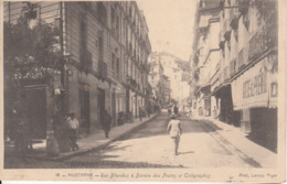 ALGER - MUSTAPHA - RUE BLANDAN - BUREAU DES POSTES ET TELEGRAPHES - ALGERIE. POSTE. TRES BEAUX CACHETS 5-10-05 - Algérie