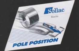 Autocollant Ancien Biache Saint Vaast SOLLAC Pole Position 10 X 12 CM - Pegatinas