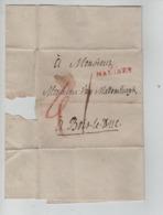 PR7494/ LSC Griffe 95/ Malines > Bois-Le-Duc Port I - 1794-1814 (French Period)