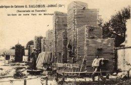 JARNAC -  FABRIQUE DE CAISSES -   G. SALOMON  .......... - Jarnac