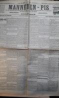 LA FEUILLE LITTERAIRE: MANNEKEN-PIS De Charles Deulin - Newspapers
