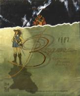 ETIQUETTE De VIN - CYRANO - Bergerac 1997 - 12° - 75cl - TBE - Giullari