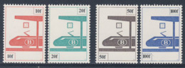 Belgie Belgique Belgium 1982 Mi EB 379 /2 YT 455 /8 SG P2703 /6 - Eisenbahnpaketmarken / Railway Parcel Tax Stamps - Treni