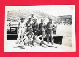 FOTOGRAFIA LERO 1932 - MILITARE - MILITARI - Garcon Homme En Maillot De Bain Torse Nu - Boy - Guerre, Militaire