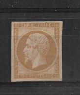 FRANCE  NAPOLEON III  N° 13A    NEUF SANS GOMME  SIGNE SCHELLER - 1853-1860 Napoléon III