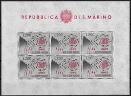 SAINT-MARIN - EUROPA CEPT - FEUILLET N° 572 - NEUF** - 1962