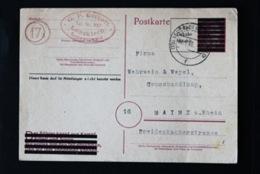 40766) ALL. BESETZUNG Aufbruchausgaben Ganzsache PB 814 I Gestempelt Aus 1945 - Zone AAS