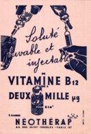 BUVARD SOLUTE BUVABLE ET INJECTABLE VITAMINE B12  NEOTHERAP PARIS - Produits Pharmaceutiques