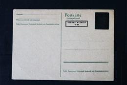 40769) ALL. BESETZUNG Aufbruchausgaben Ganzsache PE 824 A Ungebraucht Aus 1946 - Zona AAS