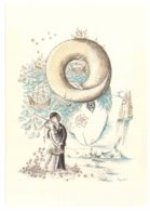 LES SIGNES DU ZODIAQUE (Editeur R Mouret) -- 12 CARTES -- D'après R.PEYNET --  Les Signes Du Zodiaque -- - Peynet