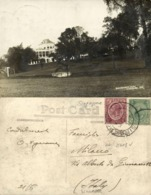 Singapore, Government House (1924) RPPC Postcard - Singapour