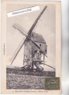 CPA - 80 - MOLLIENS-VIDAME (Somme) - MOULIN à VENT - CARTE RARE 1920 Environ Cachet Postal Difficile à Lire - Autres Communes