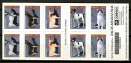 Brazil 1998 Brasil / Animals Mammals Dogs Cats Booklet MNH Carnet Fauna Mamíferos Säugetiere / Cu12428  2-19 - Stamps