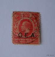 KENYA UGANDA TANGANYIKA -6c. Stamp Of Kenya Uganda & Tanganyika Over Printed G.E.A. Used. - Kenya, Uganda & Tanganyika
