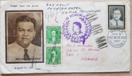 Philippines 1957 France - Filipinas
