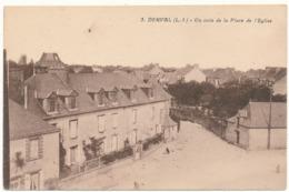 DERVAL - Coin De La Place De L'Eglise - Derval