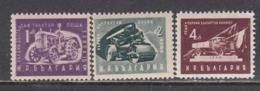 Bulgaria 1951 - Freimarken: Volkswirtschaft(kleines Format), Mi-Nr. 783/85, MNH** - 1945-59 República Popular