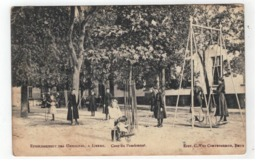 Lier  ETABLISSEMENT DES URSULINES A LIERRE    Cour DuPensionnat 1908  Edit. C.Van Cauwenbergh,Brux. - Lier
