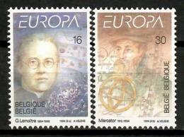 Belgium 1994 Bélgica / Europa CEPT Explorers Discoveries MNH Descubrimientos / Kj24  30-33 - Europa-CEPT