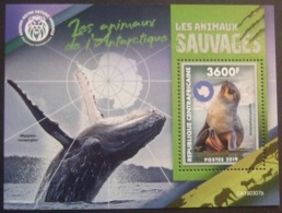 CENTRAL AFRICA REPBL. 2019 - ANTARCTIC ANIMALS  MNH**. (V1706-625) - Other