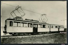 Photo Cartonnée (repro Ancienne D'un Document) - VFDM Basque - Motrice 4 Moteurs Du Bayonne - Hendaye - Trains