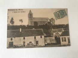 Casteau  Soignies   L'Eglise De Casteau (+ Vue Sur La Brasserie - Brouwerij De L'Esperance) - Soignies