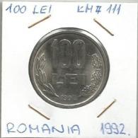 C1 Romania 100 Lei 1992. KM#111 - Roemenië