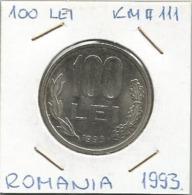 C1 Romania 100 Lei 1993. KM#111 - Roemenië