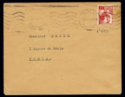 France N° 633 Seul S/Lettre Càd 16-2-45 - TTB Qualité - France