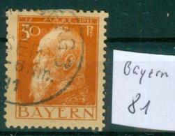 Bayern  MiNr. 81      O / Used  (L963) - Bavaria