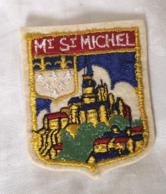 Ecusson MONT SAINT MICHEL Souvenir Tissu Mt St Michel - Ecussons Tissu