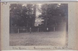 Photographie Bretagne Côte D'Armor Louanec Rosmapamon Rade De Perros Villa Renan 1904 ( Ref 259) - Lugares