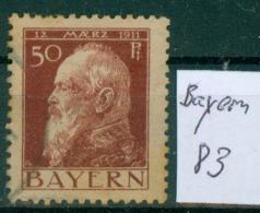 Bayern  MiNr. 83      O / Used  (L963) - Bavaria