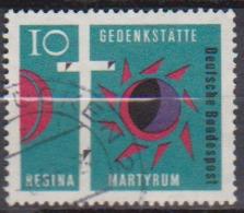 BRD 1963 MiNr.397  Gedenkstätte Regina Martyrum ( A667 ) Günstige Versandkosten - BRD