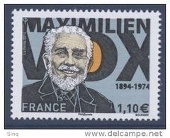 N° 4906 Maximilien Vox Faciale 1,10 € - France